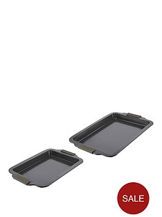 tower-cerastone-2-piece-baking-tray-set