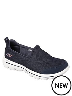 skechers-gowalk-evolution-ultra-reach-plimsolls-navy