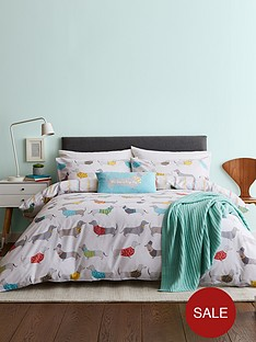 catherine-lansfield-silly-sausage-dogs-duvet-cover-set