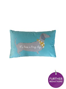 catherine-lansfield-silly-sausage-dogs-cushion