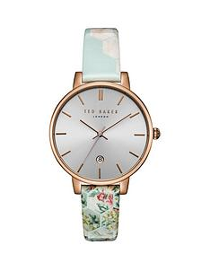 ted-baker-ted-baker-grey-and-rose-gold-detail-dial-floral-sky-print-leather-strap-ladies-watch