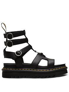 dr-martens-adaira-flat-sandals-black