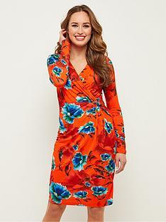 joe-browns-gorgeous-botanical-wrap-dress