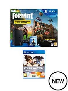 playstation-4-fortnite-ps4-500gb-bundle-with-overwatch-legendary-edition-plus-optional-extras