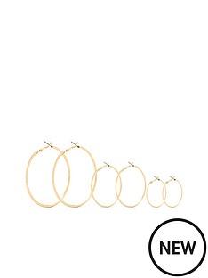 michelle-keegan-3-pack-hoops-gold