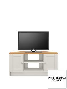 alderley-2-drawer-ready-assembled-corner-tv-unit--nbspgreyoak-effectnbsp--fits-up-to-48-inch-tv
