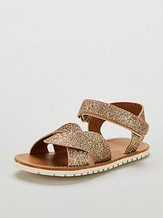 mini-v-by-very-kalnbspglitter-cross-over-sandals-gold