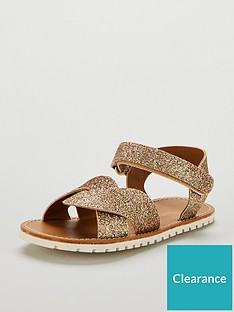 mini-v-by-very-kalnbspglitter-cross-over-sandals-gold