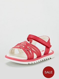 mini-v-by-very-sally-pink-shimmer-criss-cross-sandal