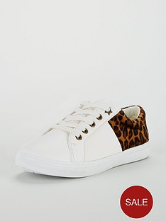 mini-v-by-very-cece-leopard-back-lace-up-trainers-white