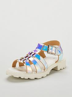 mini-v-by-very-candy-iridescent-cage-heeled-sandals-multi