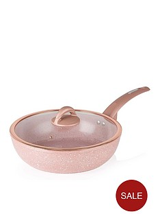 tower-cerastone-rose-edition-28-cm-forged-multi-pan