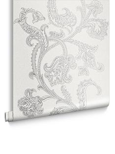 Laurence Llewelyn-Bowen Xanadu Oriental Pearl Wallpaper