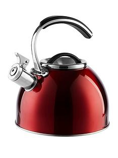 morphy-richards-accents-3-litre-whistling-stove-top-kettle-ndash-red