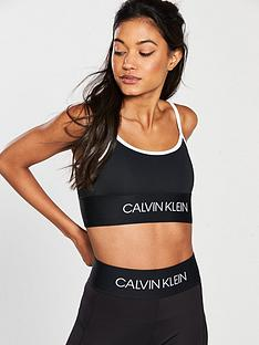 0c7875dd5f Calvin Klein Performance Performance Low Support Sports Bra - Black