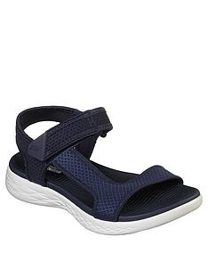 skechers-on-the-go-600-force-flat-sandal-shoe-navywhite
