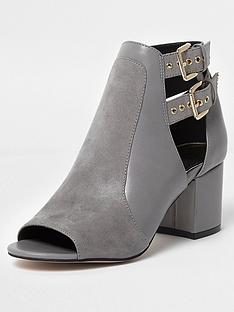 river-island-river-island-double-buckle-shoe-boot-grey