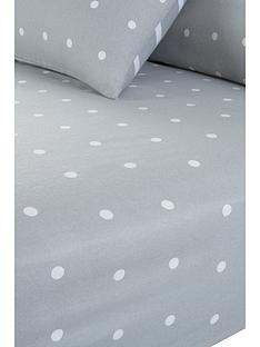 everyday-collection-brushed-cotton-printed-spot-fitted-sheet-grey