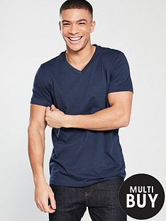 v-by-very-essential-basic-v-neck-t-shirt-navy