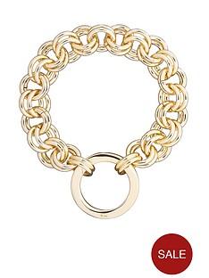 karen-millen-hoop-chain-bracelet-gold