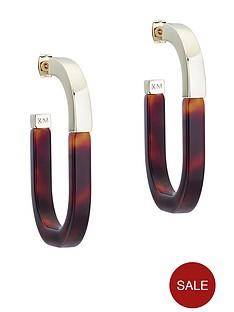 karen-millen-graphic-hoop-earrings-gold