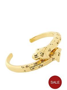 karen-millen-leopard-jewel-studded-cuff-bracelet-goldbrown