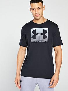 under-armour-sportstyle-boxed-logo-t-shirt-blackgrey
