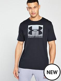 under-armour-sportstyle-boxed-logo-t-shirt-blackgrey