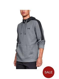 under-armour-microthread-fleece-12-zip-hoodie-grey-heather-black