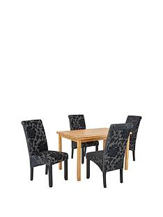 wilson-120-cm-solid-wood-dining-table-4-oxford-chairs