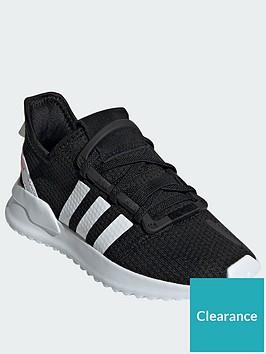 adidas-originals-u_path-run-childrens-trainers-blackwhite