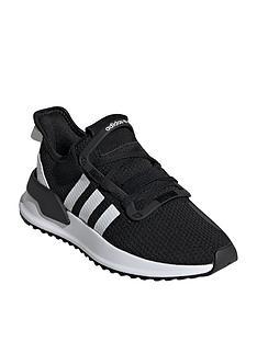 de83014fcfe adidas Originals U Path Junior Trainers - Black White
