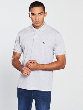 4340671a7 Lacoste Sportswear Classic Polo - Grey