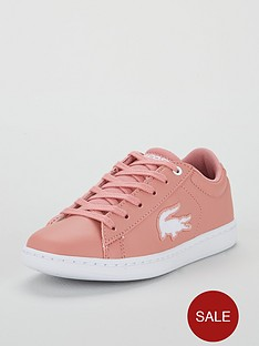 ae20d9d63cfea Lacoste Carnaby Evo Lace Up Trainer