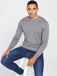 lacoste-sportswear-crew-neck-jumper-grey