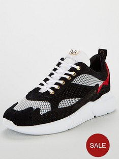 mercer-mercer-w3rd-micro-perforated-suede-trainer