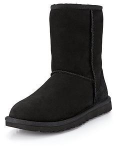 ugg-classic-short-ii-boots-black