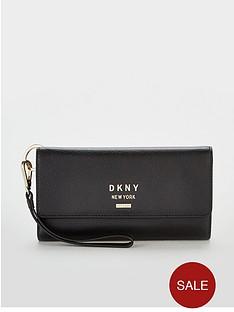 dkny-dkny-whitney-pebble-leather-carryall-wallet