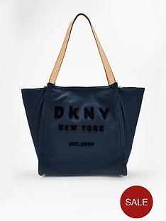 dkny-courtney-canvas-tote-bag-navy