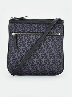 fa29a81ada5 DKNY Casey Zip Logo Crossbody Bag