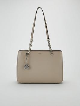 e0e7f8cf7 DKNY Dkny Bryant Sutton Leather Large Shopper Tote Bag ...