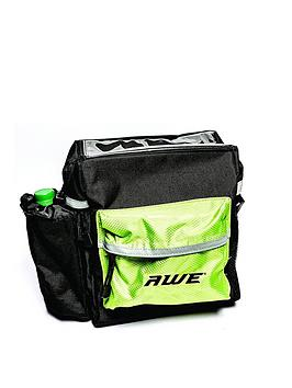 awe-awe-large-handle-bar-clip-on-luggage-bag-blackgreen-quick-release