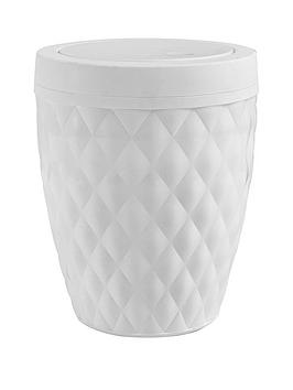 addis-diamond-finish-5-litre-bathroom-bin