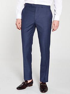 4ba9744e3036 Ted Baker Sterling Birdseye Suit Trousers - Blue