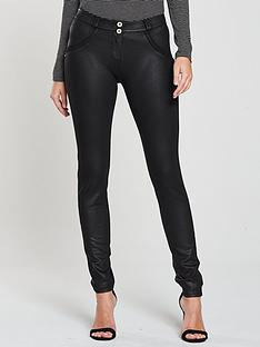 freddy-jeans-mid-rise-coated-skinny-jean