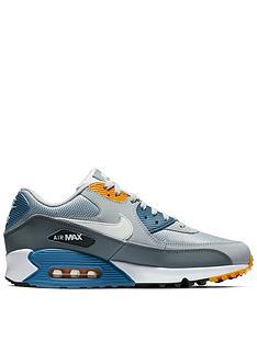 cheap for discount b3843 df5ba Nike Air Max 90 Essential - Grey White