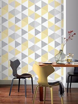 arthouse-scandi-triangle-wallpaper-ndash-yellow