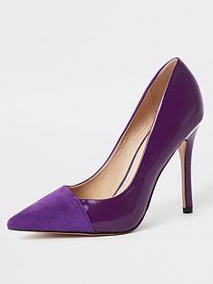 river-island-river-island-contrast-toe-court-shoes-purple