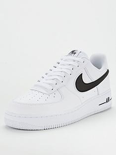 best website edf19 708a7 Nike Air Force 1 07 3 Trainers - White