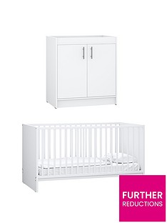 little-acorns-santorini-cot-bed-amp-changer-set-white
